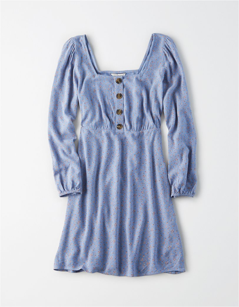 AE Long Sleeve Square Neck Mini Dress 2