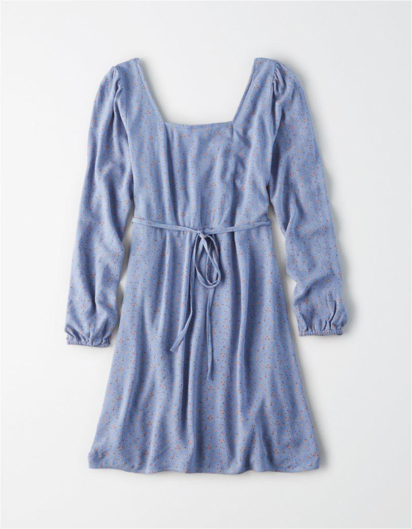 AE Long Sleeve Square Neck Mini Dress 3