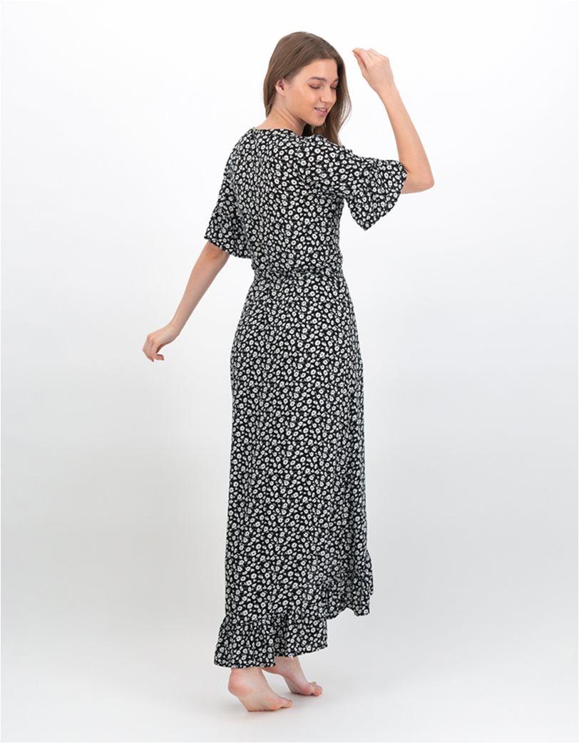 AE Ruffled Wrap Maxi Dress 1