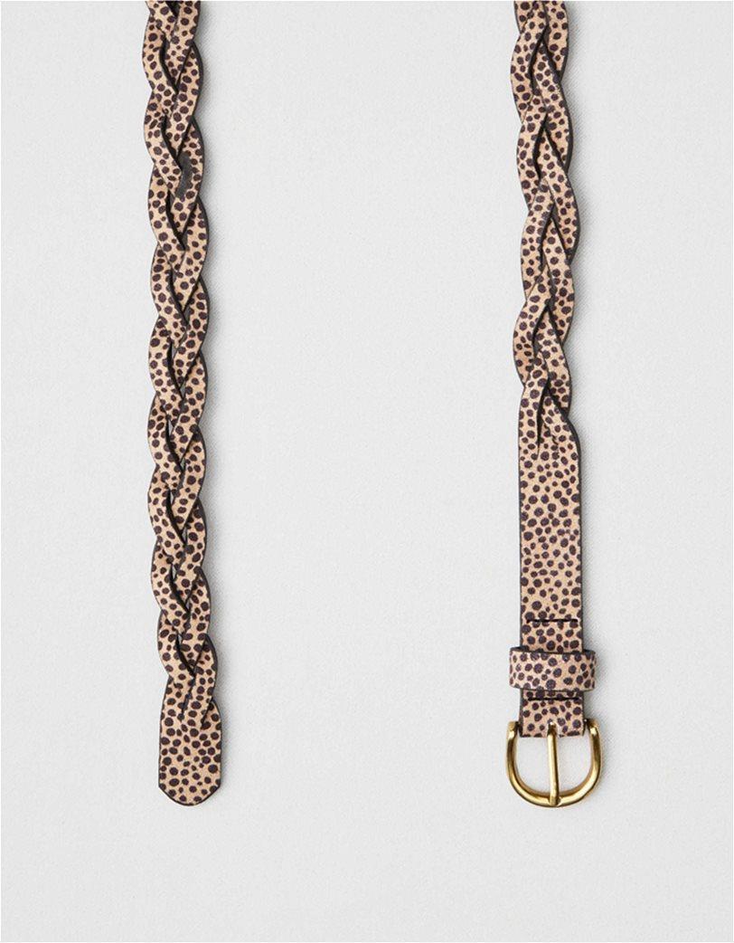 AEO Animal Print Braided Belt 1