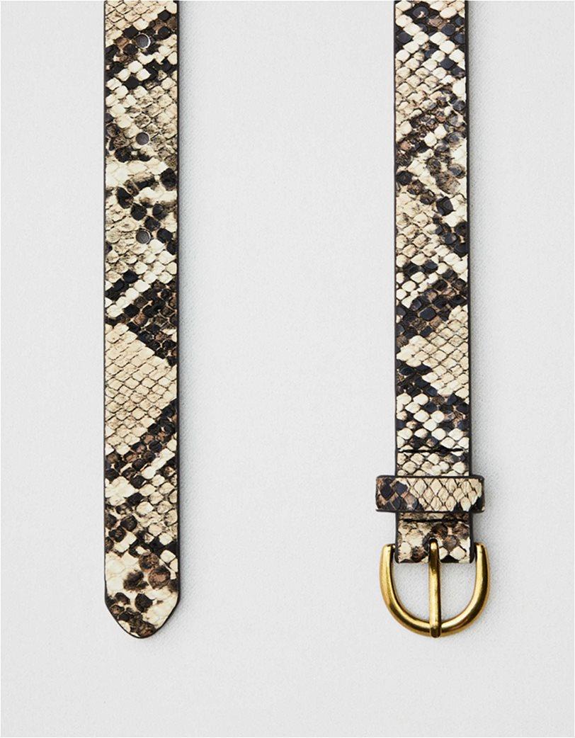 AEO Faux Snake Skin Belt 1
