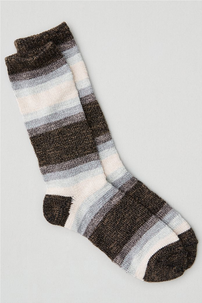 AEO Striped Crew Sock 0