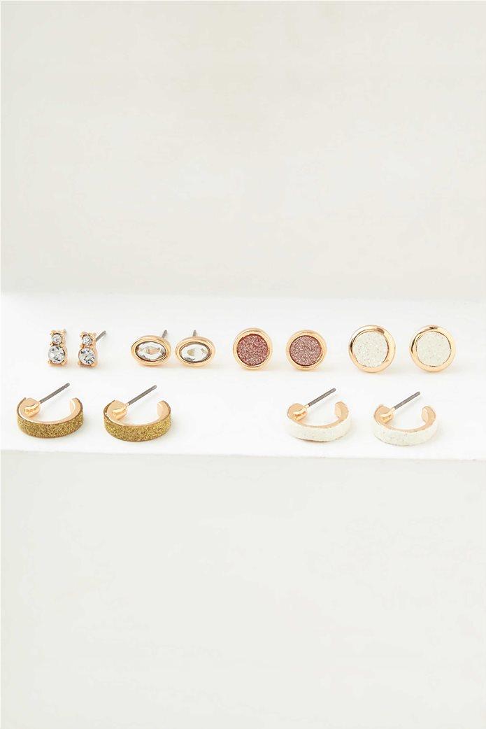 AEO Glitter Stud Earrings 6-Pack 0