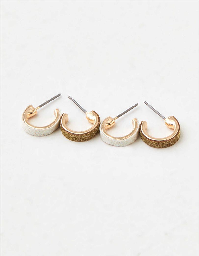 AEO Glitter Stud Earrings 6-Pack 2