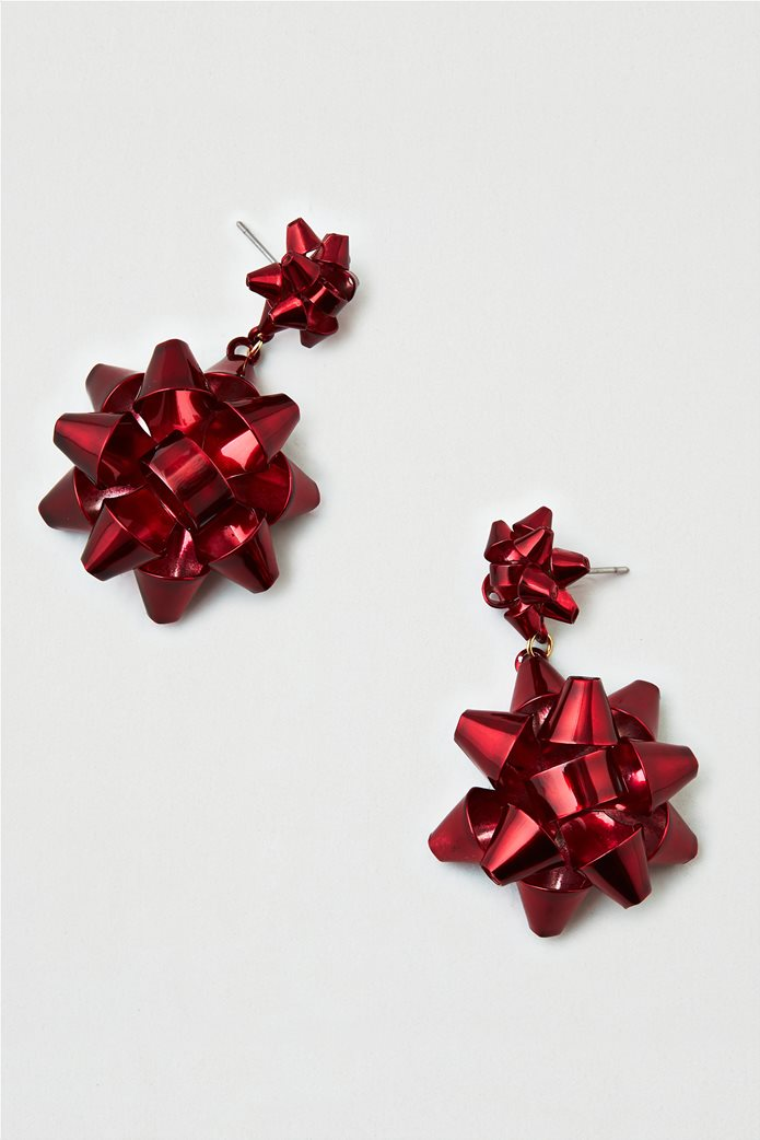 AEO Red Bow Earring 0