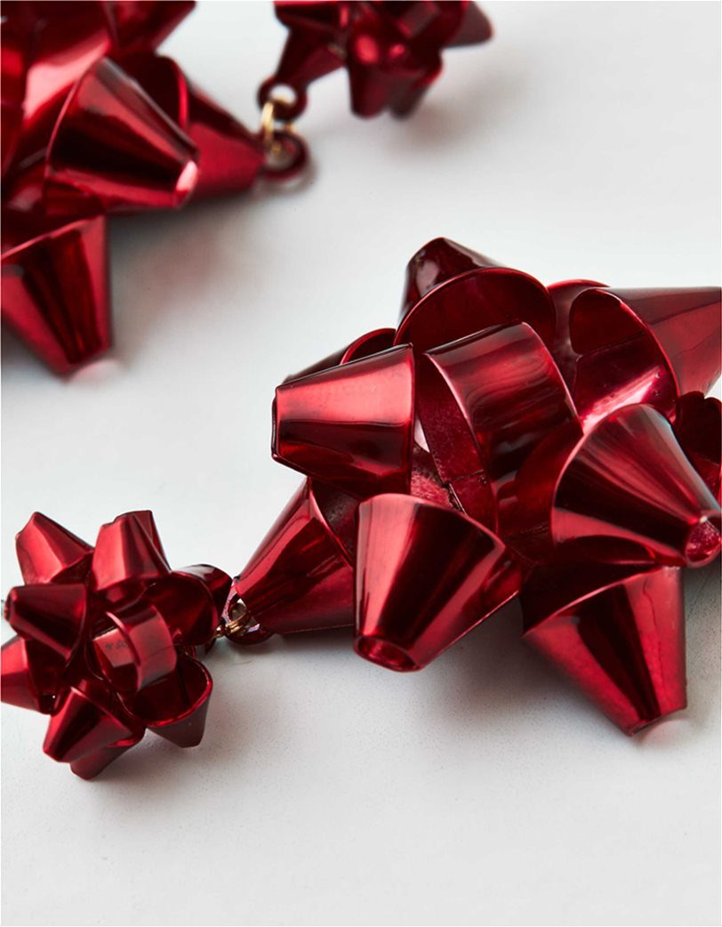 AEO Red Bow Earring 1