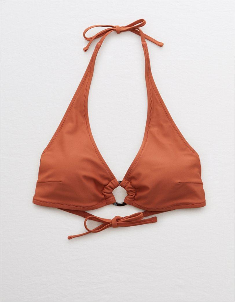 Aerie Halter Bikini Top Κεραμιδί 2