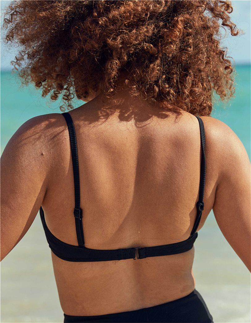Aerie V Scoop Ruched Ribbed Bikini Top 1