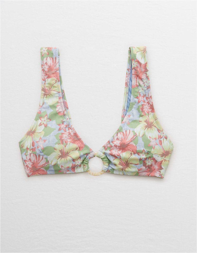 Aerie Wide Strap Plunge Bikini Top 2