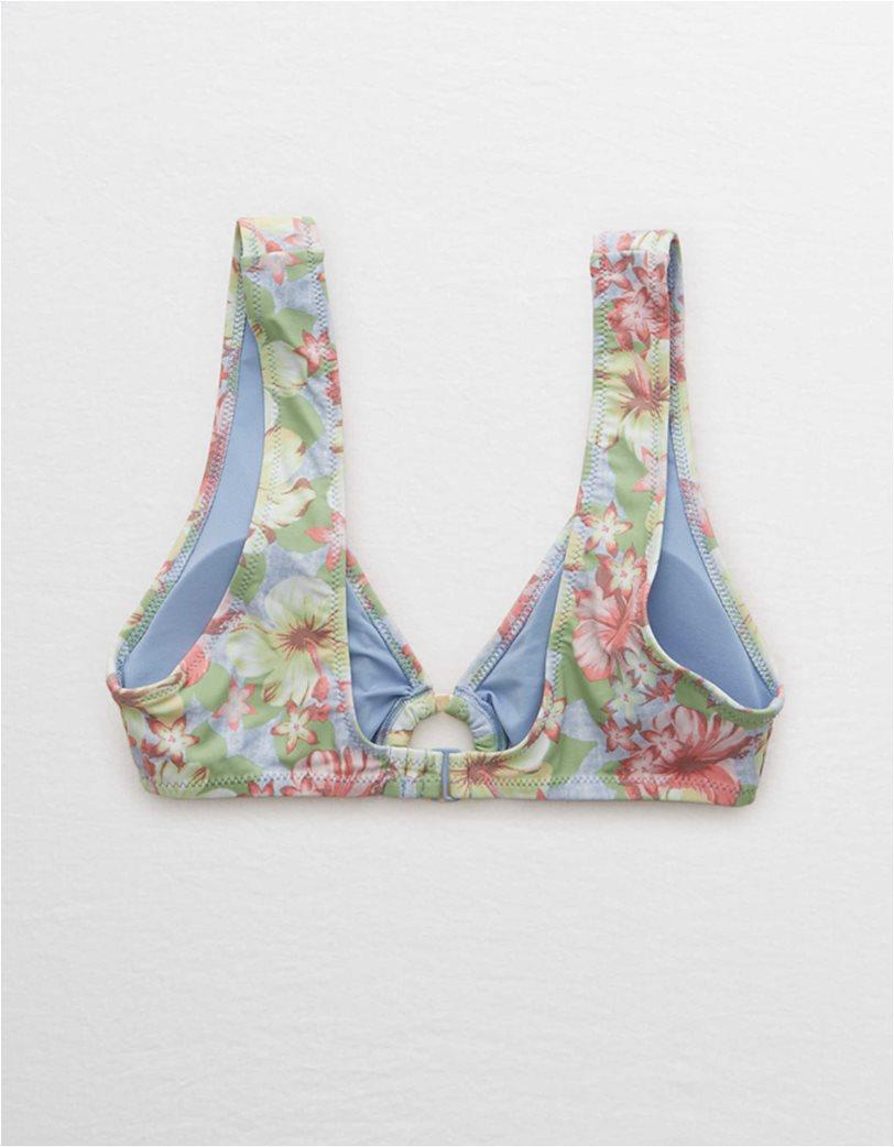 Aerie Wide Strap Plunge Bikini Top 3