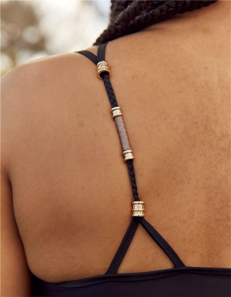 Aerie One Shoulder Bikini Top Μαύρο 2