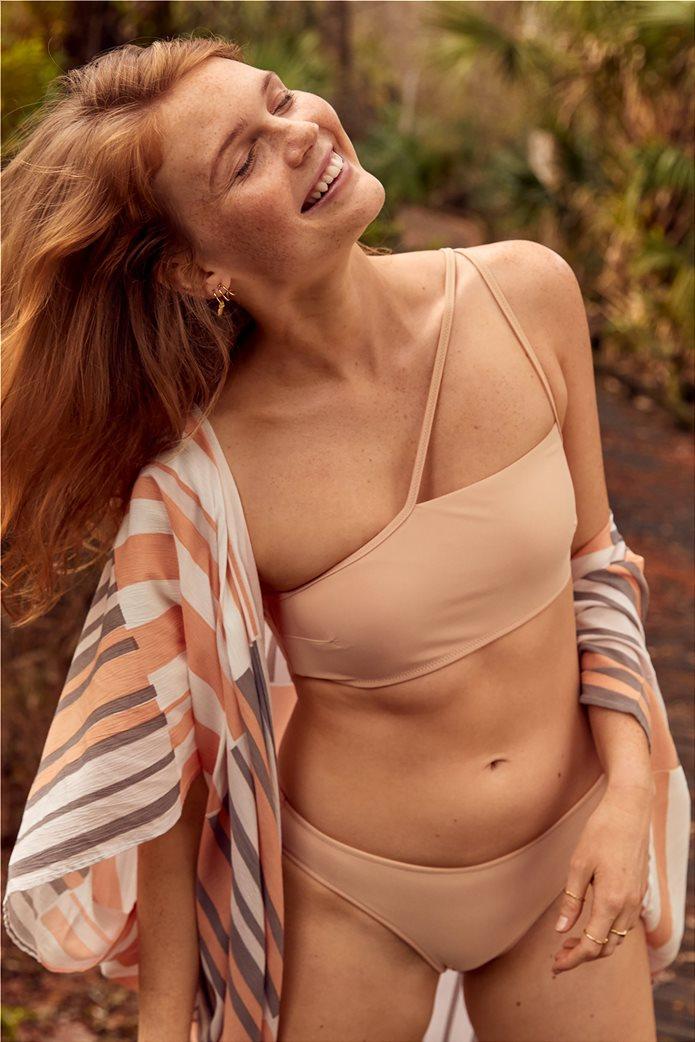 Aerie One Shoulder Bikini Top Ροδακινί 0