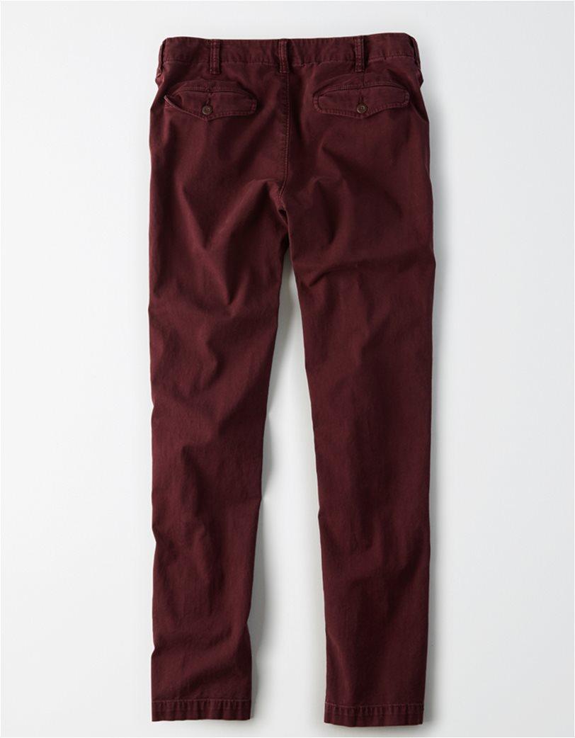 AE Ne(X)t Level Slim Khaki Pant Μπορντό 1