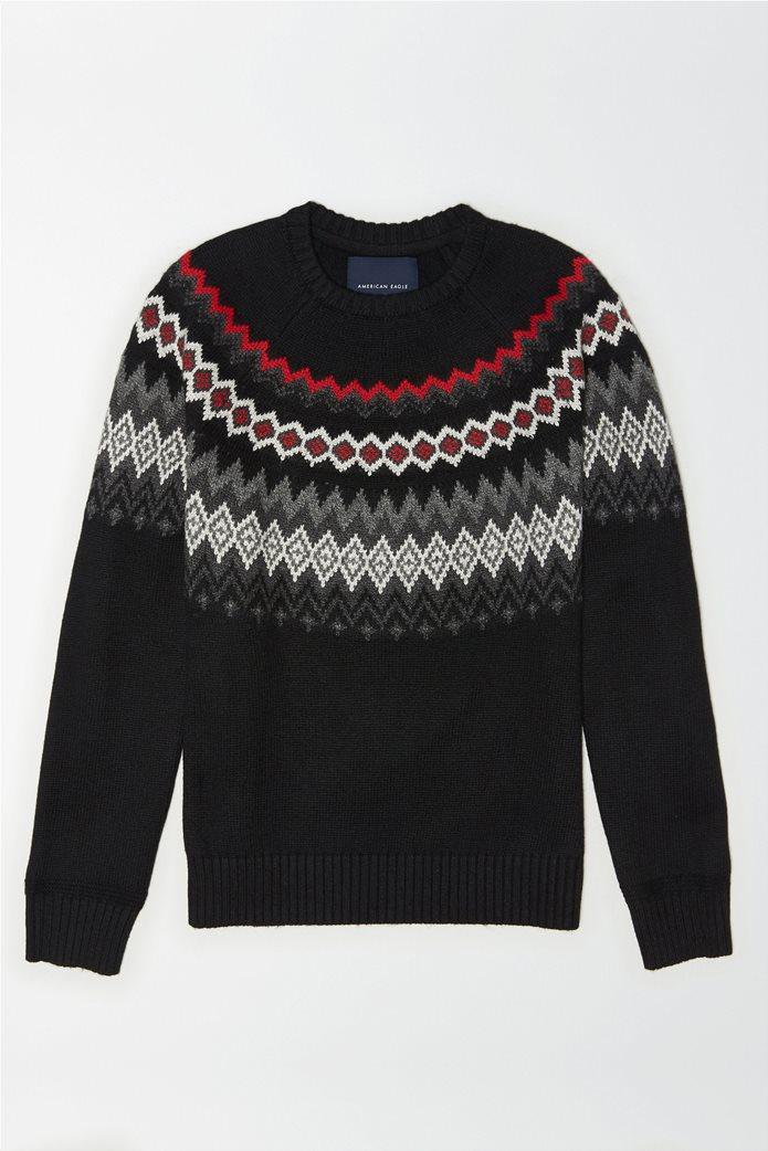 AE FairIsle Crew Neck Sweater 0