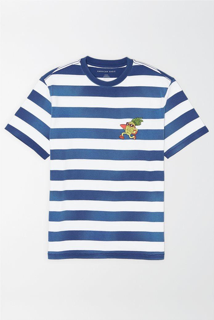 AE Short Sleeve Striped T-Shirt 0