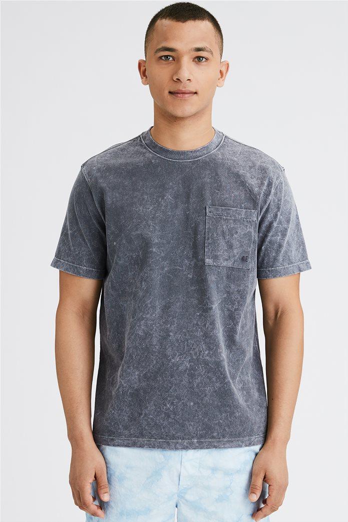 AE Vintage Wash Dye Effect Pocket T-Shirt 0