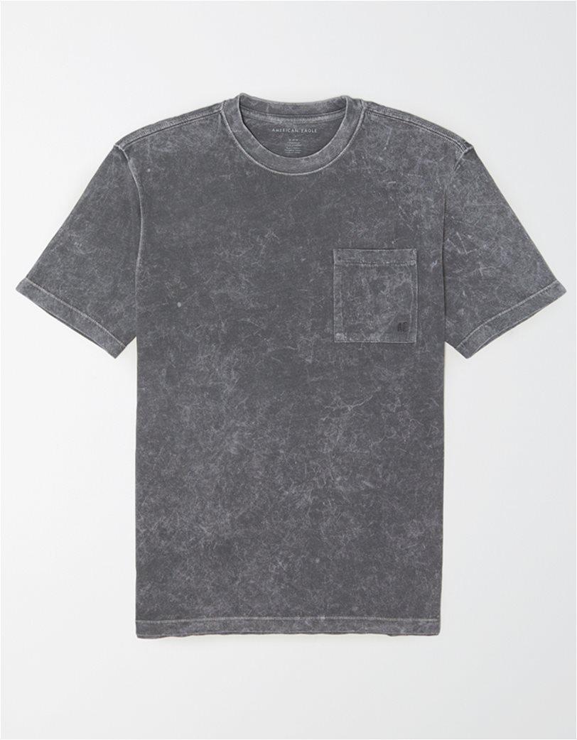AE Vintage Wash Dye Effect Pocket T-Shirt 2