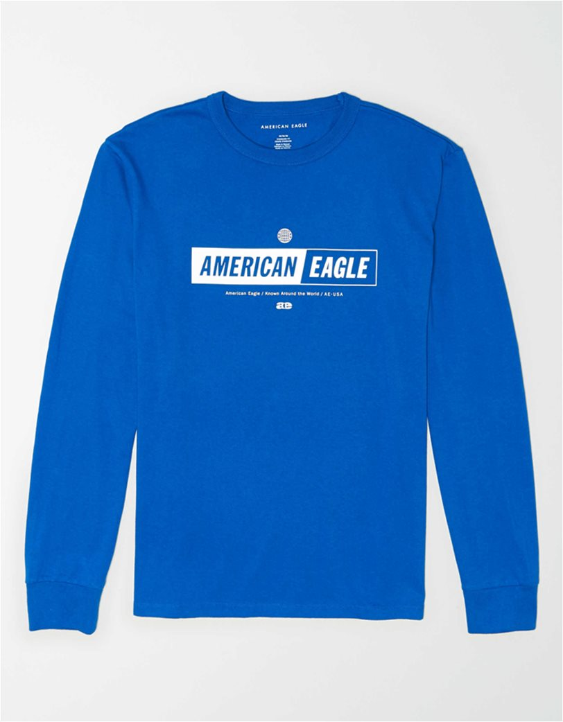 AE Super Soft Long Sleeve Reflective Graphic T-Shirt 3