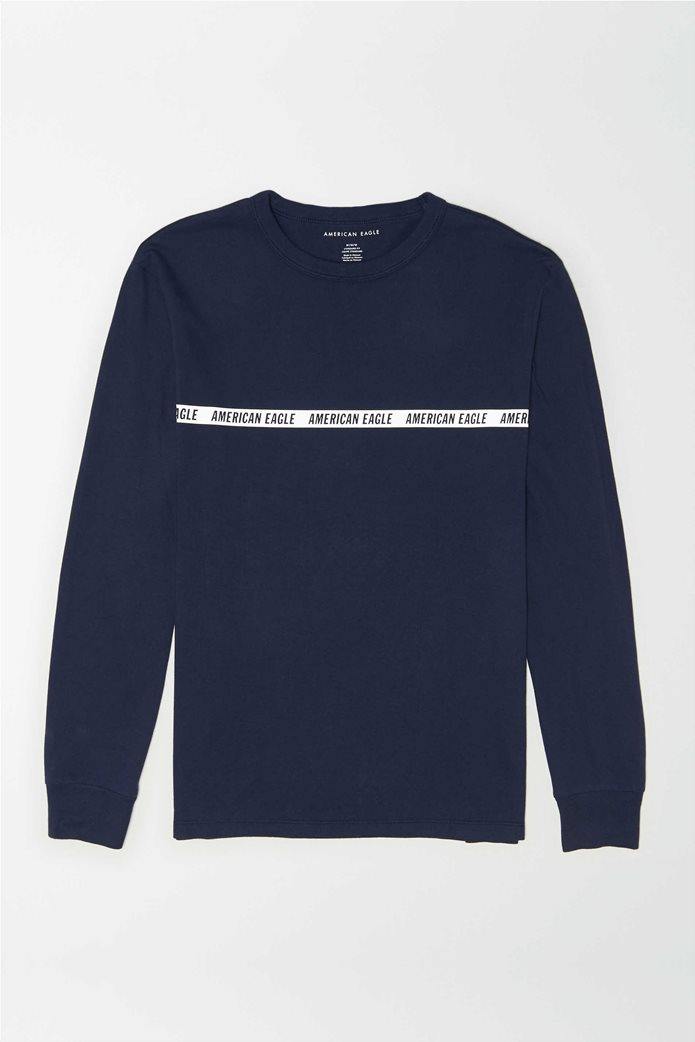AE Super Soft Long Sleeve Reflective Graphic T-Shirt 0