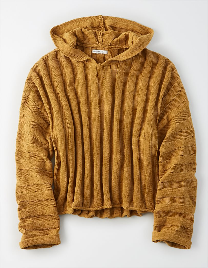 AE Chenille Cropped Hooded Sweater 2