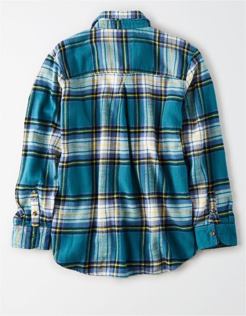 AE Plaid Button Up Shirt 3