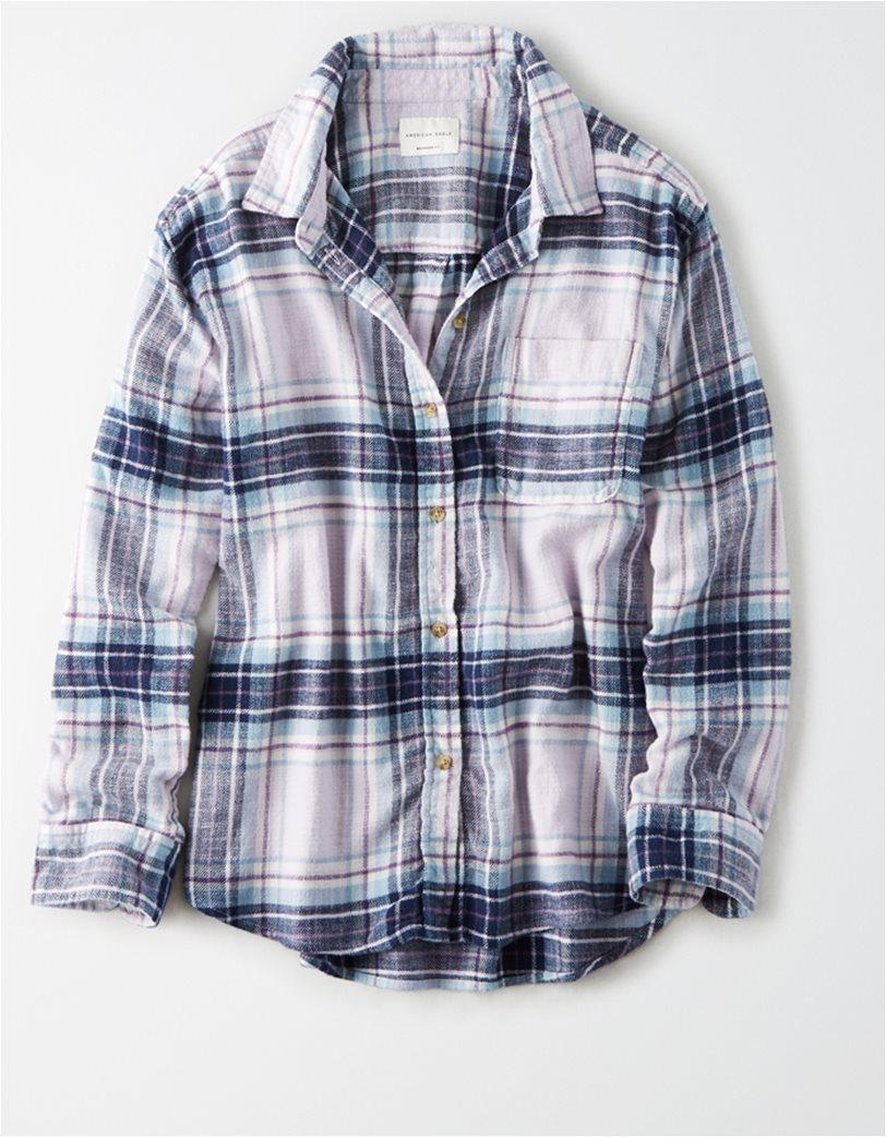 AE Plaid Button Up Shirt 2