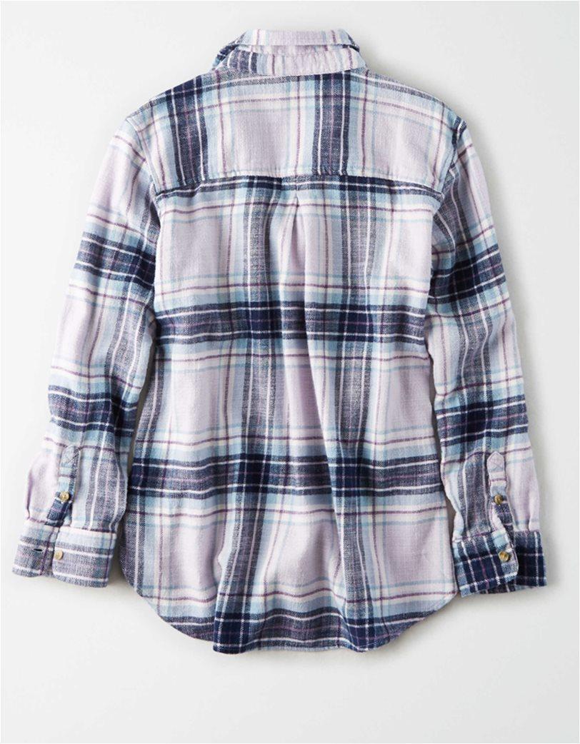 AE Plaid Button Up Shirt 4