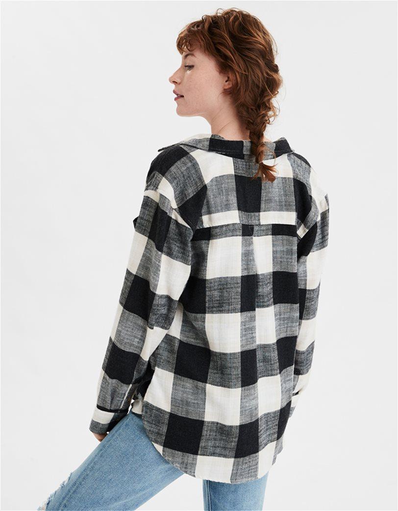 AE Plaid Button Up Shirt 1
