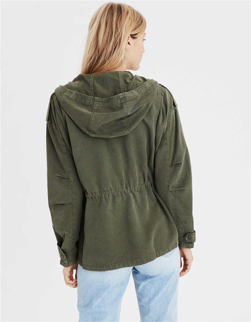 AE Hooded Military Jacket 2
