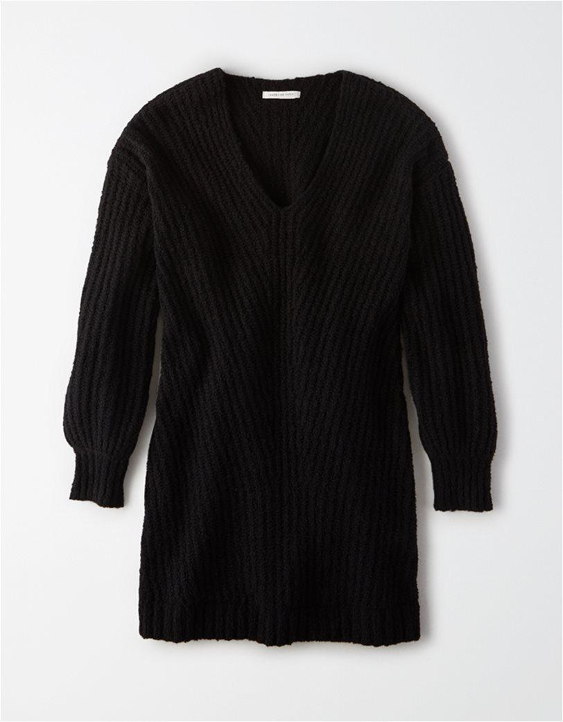 AE V-Neck Sweater Dress 2