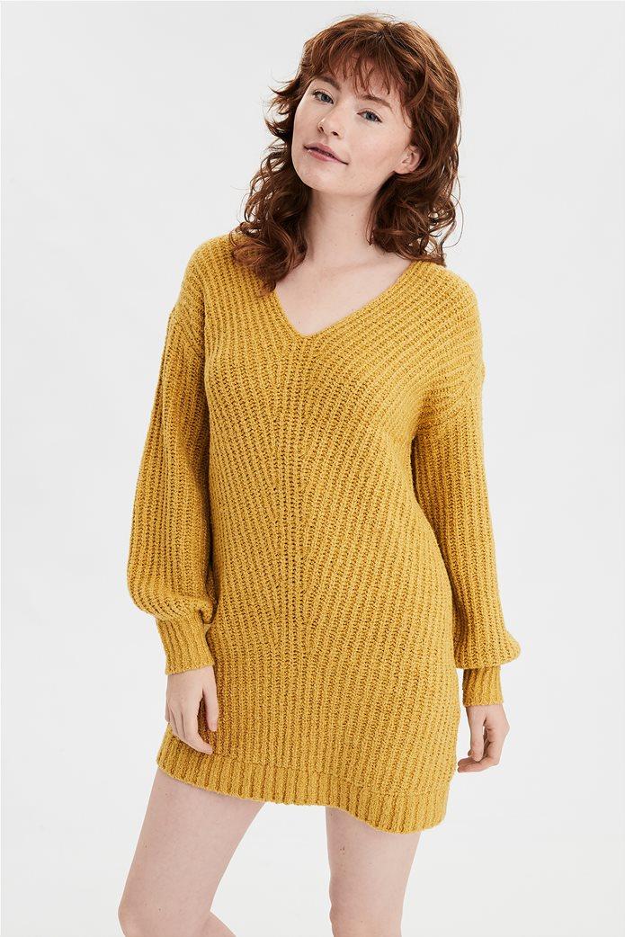 AE V-Neck Sweater Dress 0
