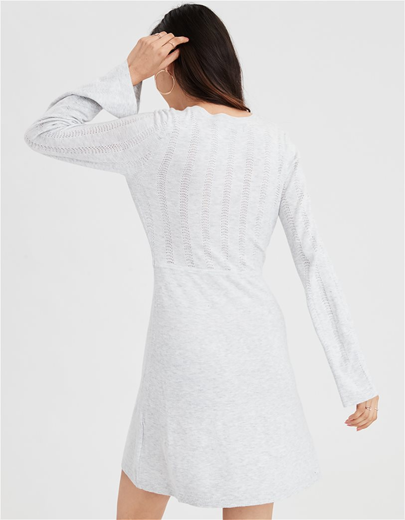 AE Wrap Front Sweater Dress 1