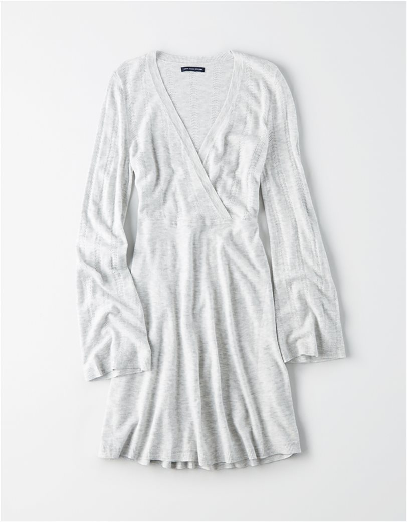 AE Wrap Front Sweater Dress 2