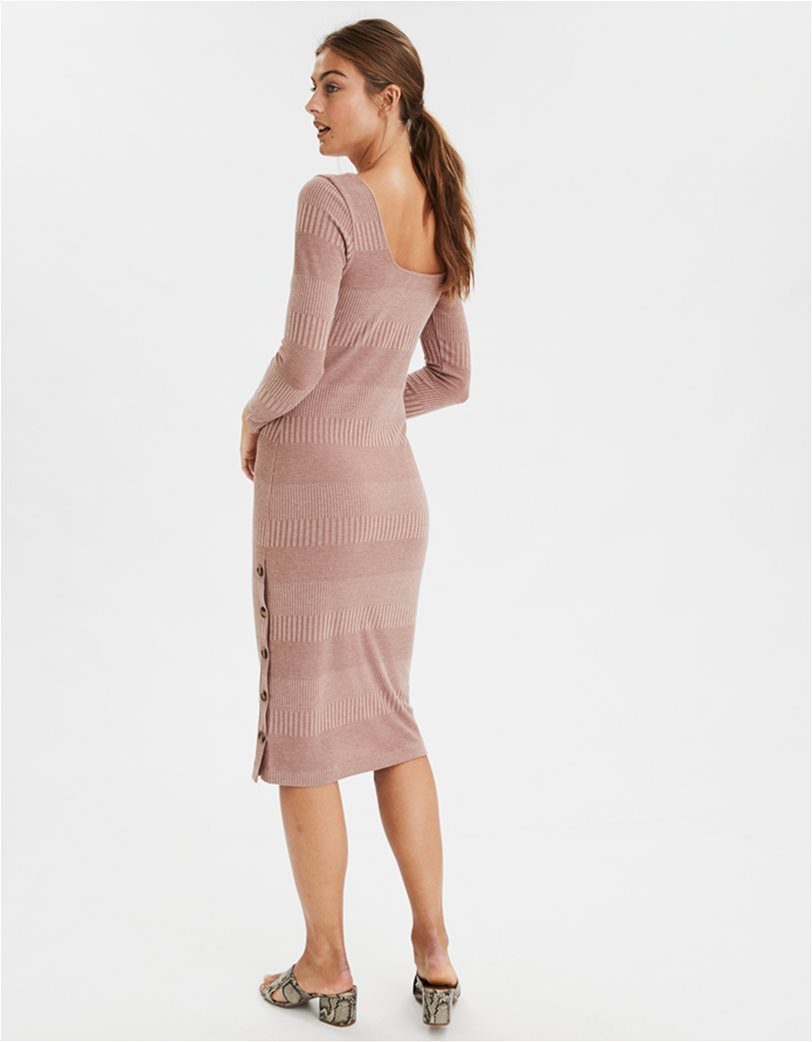 AE Knit Button Front Midi Dress 1