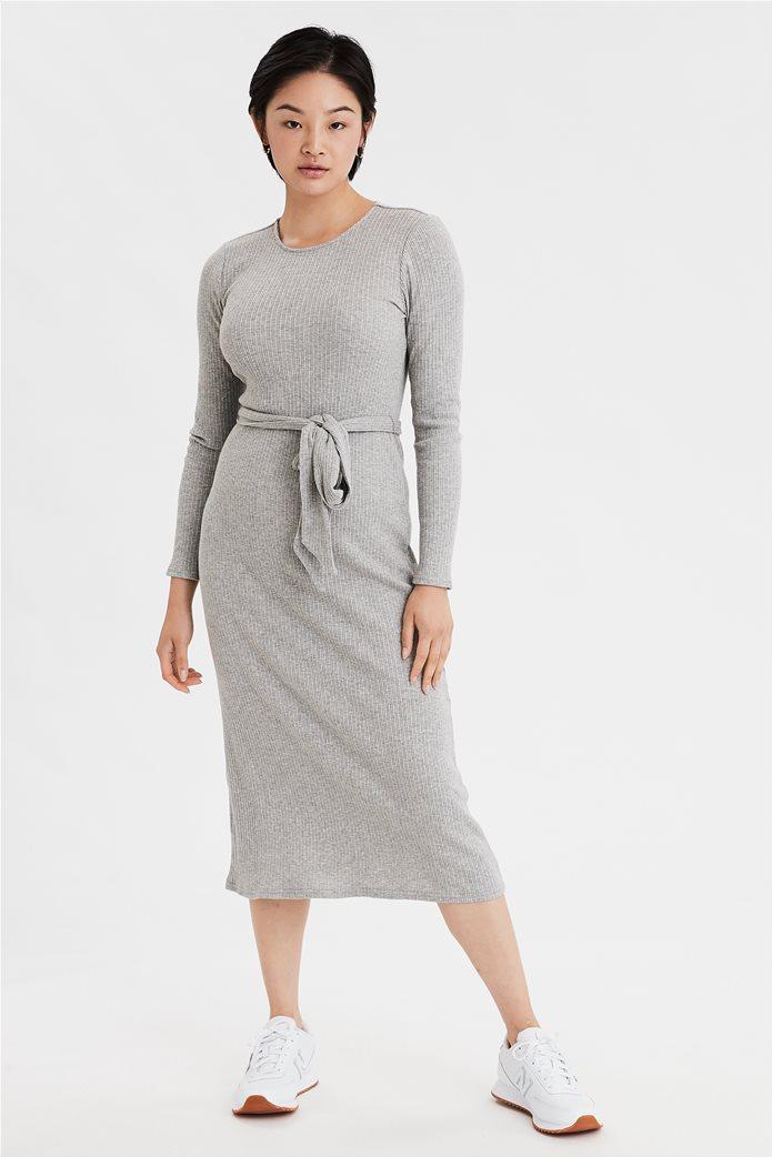 AE Long Sleeve Midi Dress 0