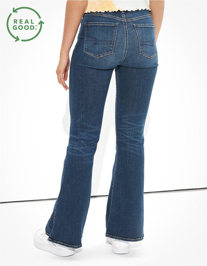 AE Super High-Waisted Split Hem Flare Jean 1