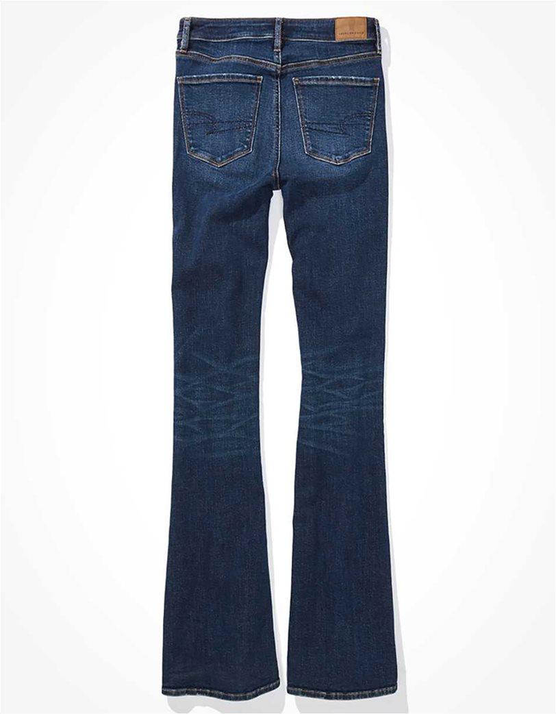 AE Super High-Waisted Split Hem Flare Jean 4