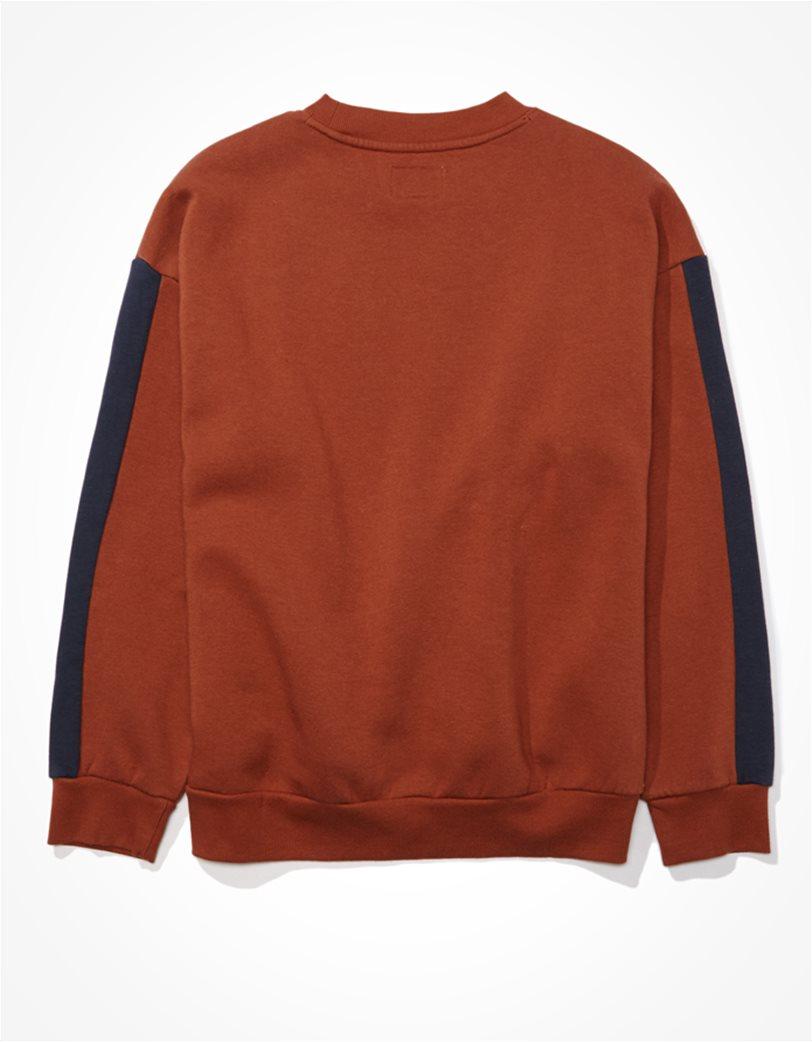 AE Fleece Graphic Crew Neck Sweatshirt 1