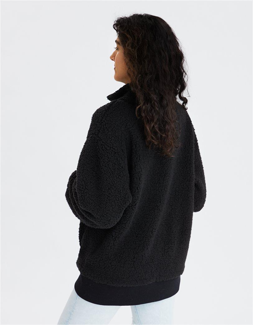 AE Fuzzy Sherpa Quarter Zip Sweatshirt 1