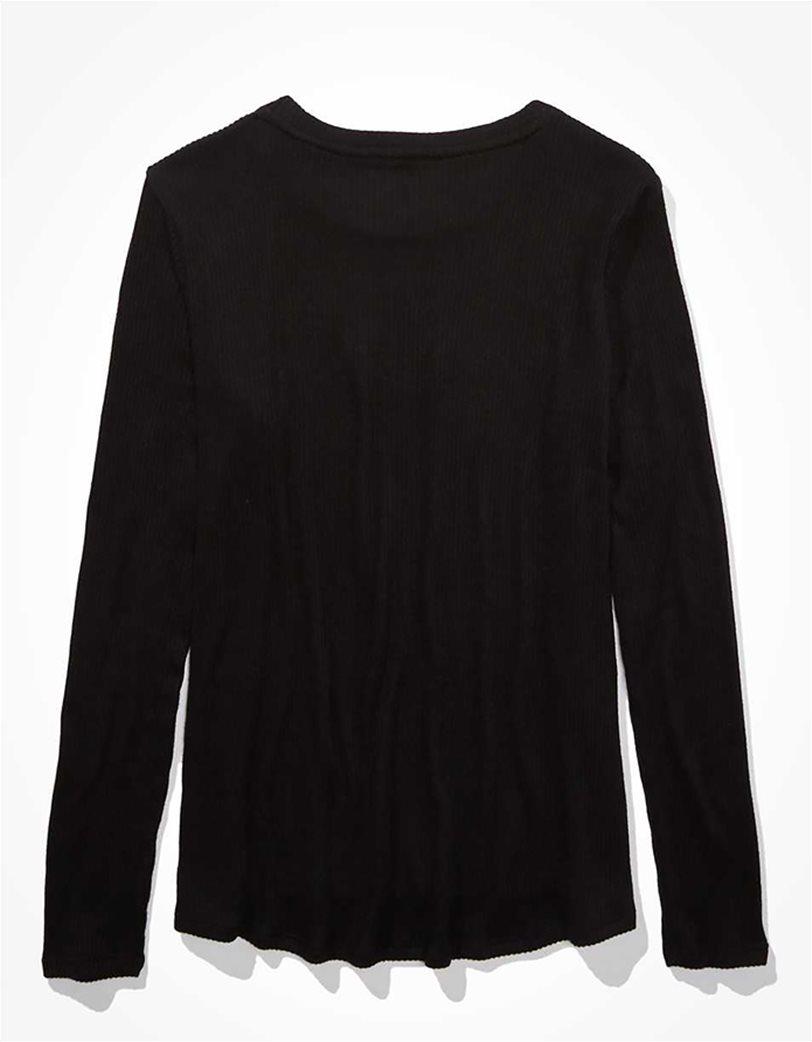 AE Soft & Sexy Plush Long Sleeve T-Shirt 3