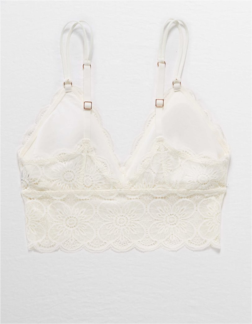 Aerie Endless Lace Padded Bralette 3
