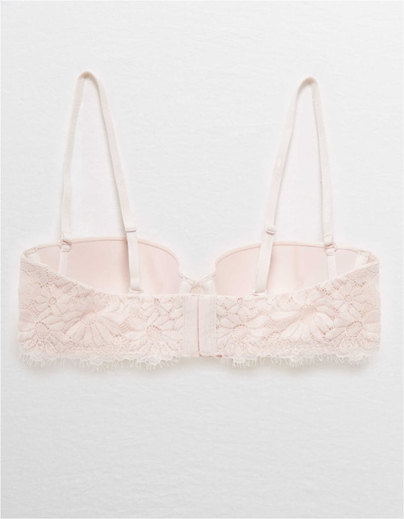 Aerie Real Happy Strapless Push Up Bra 4