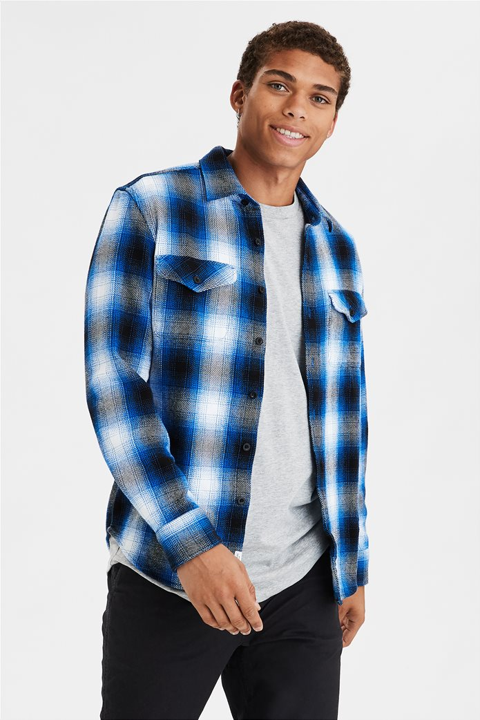 AE Seriously Soft Heavyweight Flannel Shirt 0