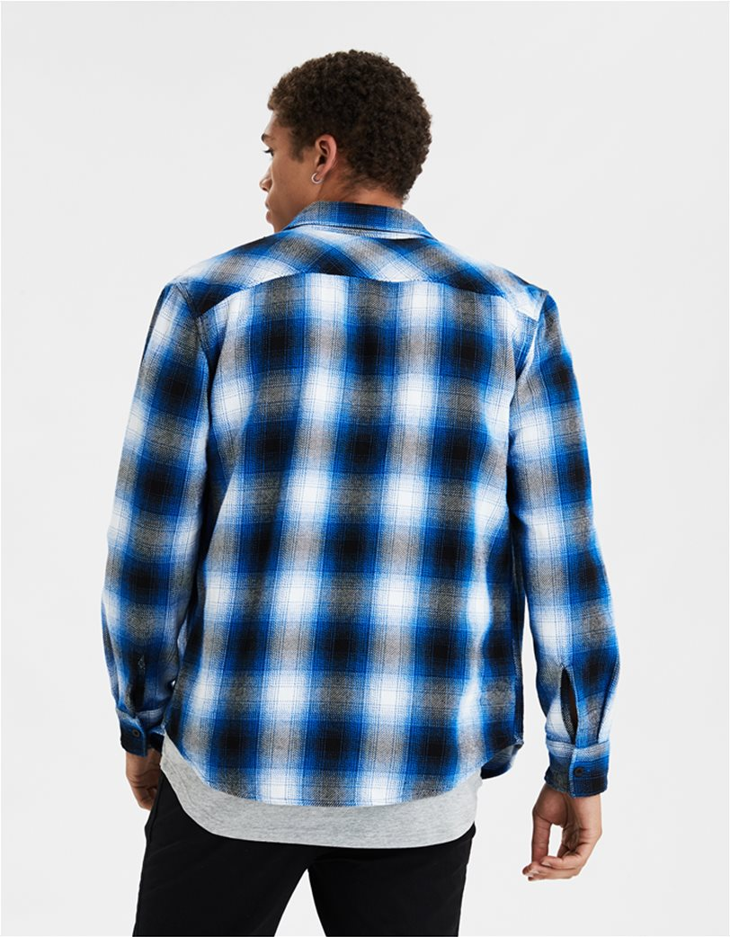 AE Seriously Soft Heavyweight Flannel Shirt 1