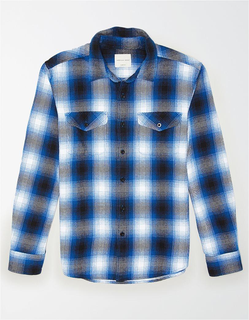 AE Seriously Soft Heavyweight Flannel Shirt 2