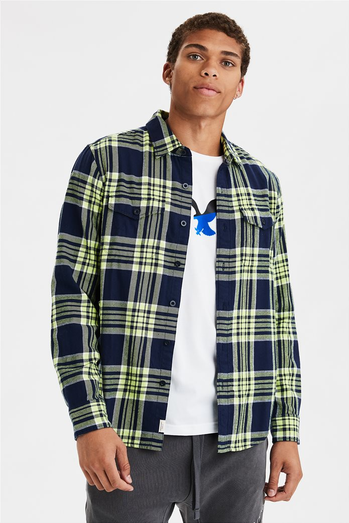 AE Seriously Soft Flannel Shirt 0
