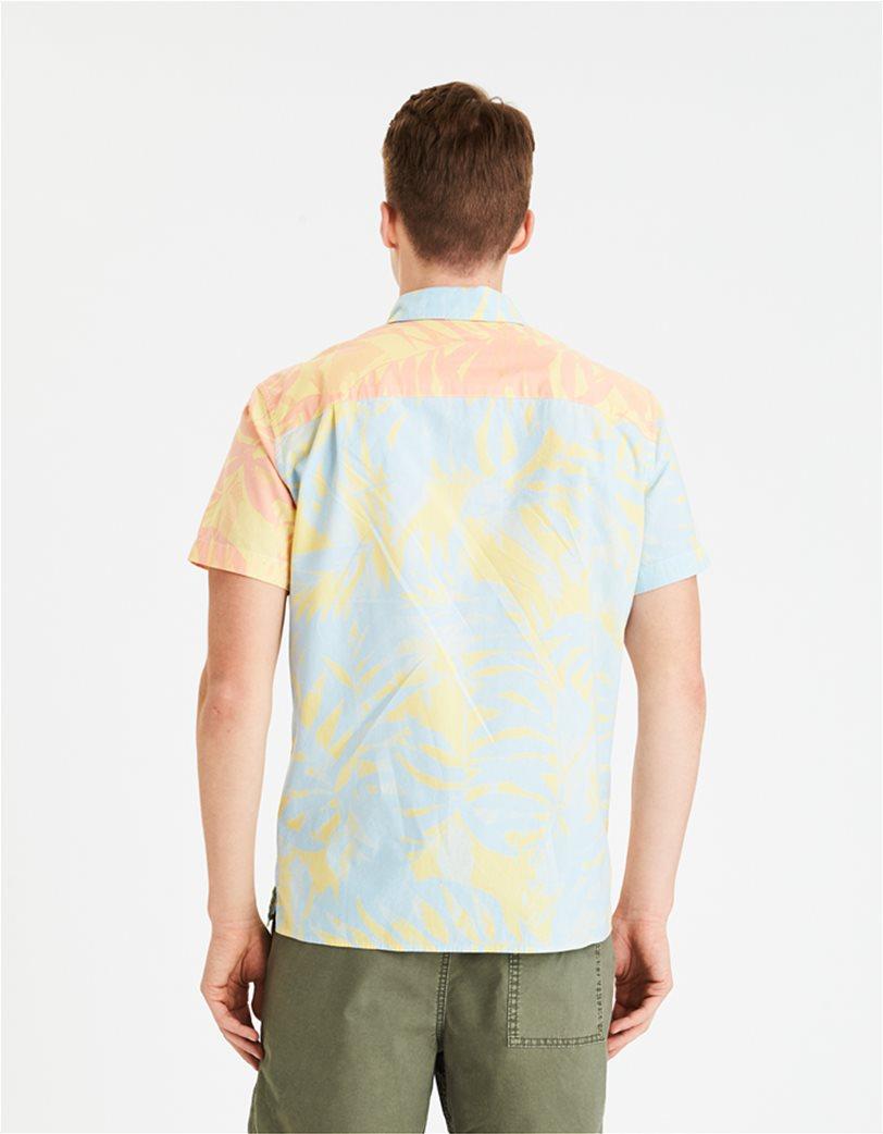 AE Tropical Print Short Sleeve Button-Up Shirt 1