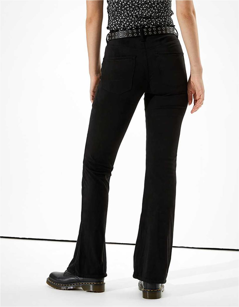 AE Super High-Waisted Suede Flare Pant 2