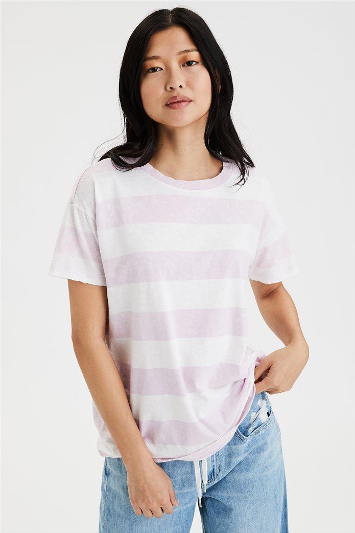 AE Crew Neck T-Shirt Λιλά 0
