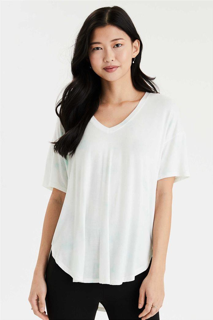 AE Soft & Sexy V-Neck T-Shirt Λευκό 0